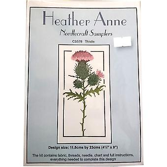 Heather Anne Needlecraft provtagare CS578 Thistle