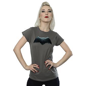 DC Comics Women's Justice League Movie Batman Emblem T-Shirt