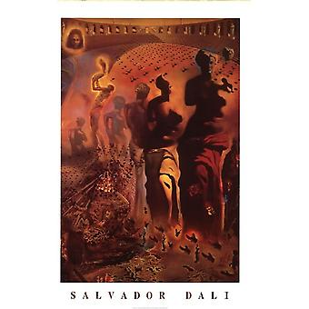 a visual analysis of the hallucinogenic toreador by salvador dali Salvador dali hallucinogenic toreador limited edition it is currently being exhibited at the salvador dali museum in st he creates his own visual.