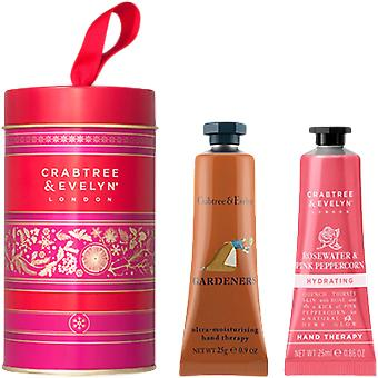 Crabtree & Evelyn Gardeners and Rosewater Gift Tin