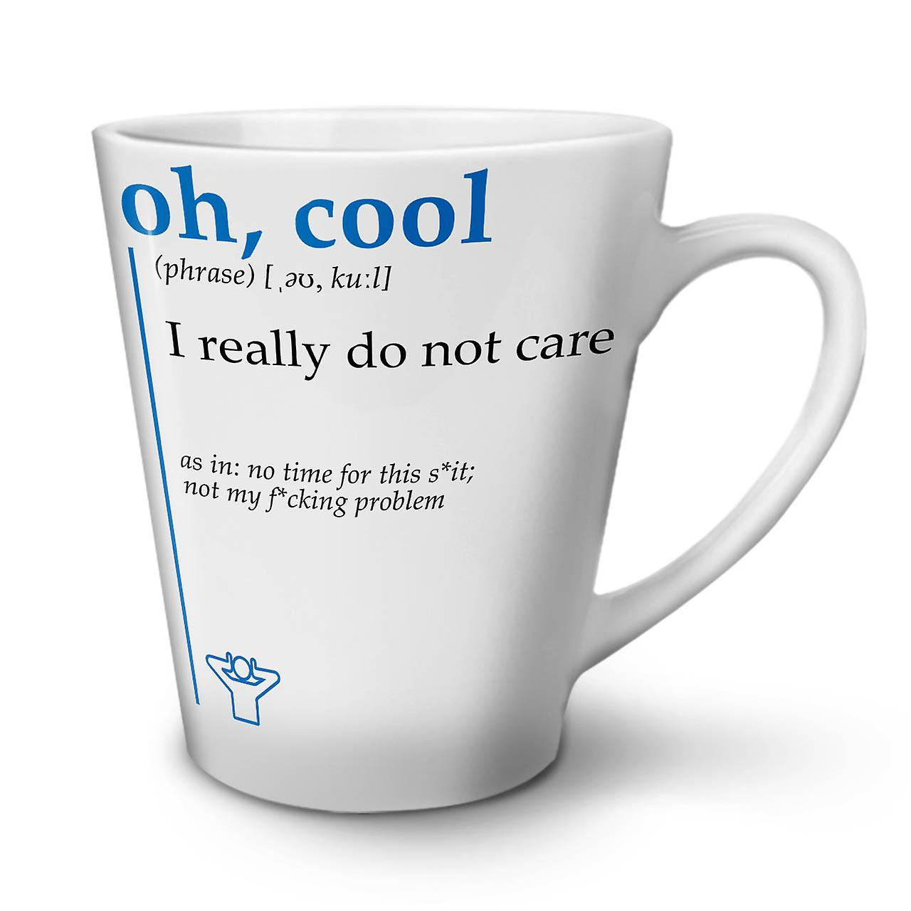 12 Café En Cool Nouvelle OzWellcoda Céramique Blanche Tasse Oh Latte XOZTwPiulk