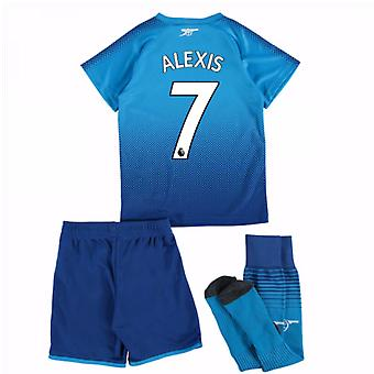 2017-18 Arsenal Away Mini Kit (Alexis 7)