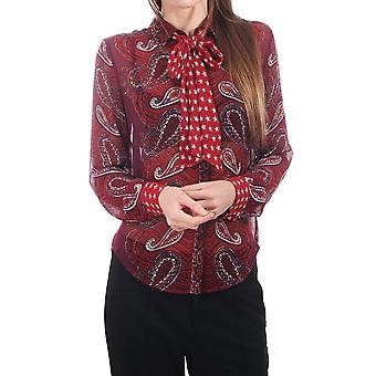 Maison Scotch Allover Paisley With Star Tie