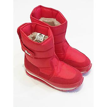 RUBBER DUCK Snowjogger Red Unisex Snow Boots From Rubber Duck