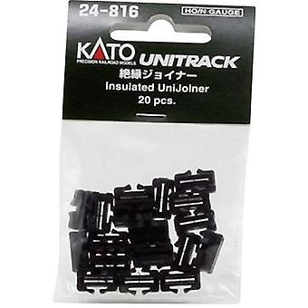 N Kato Unitrack 7078508 Track connector, Insulated