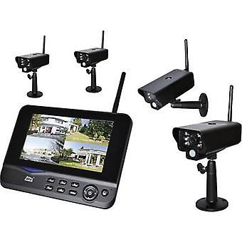 4-channel incl. 4 cameras dnt 52201 Quattsecure