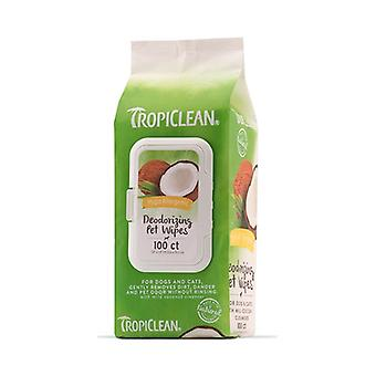 Tropiclean Hypoallergenic Deodorizing Pet Wipes