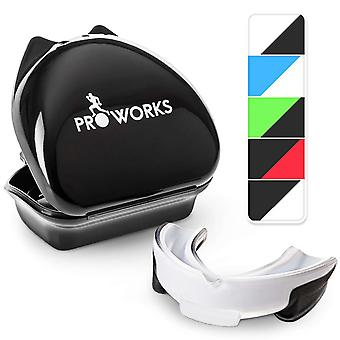 ProWorks Mouth Guard - White/Clear