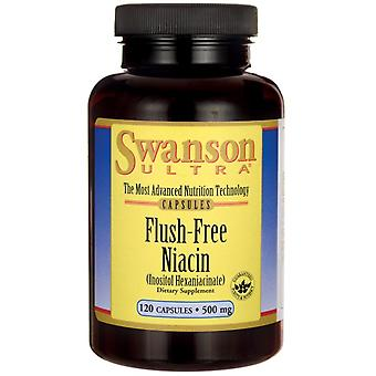 Swanson Flush Free Niacin 500Mg 120 Capsules (Sport , Athlete's health , Vitamins)