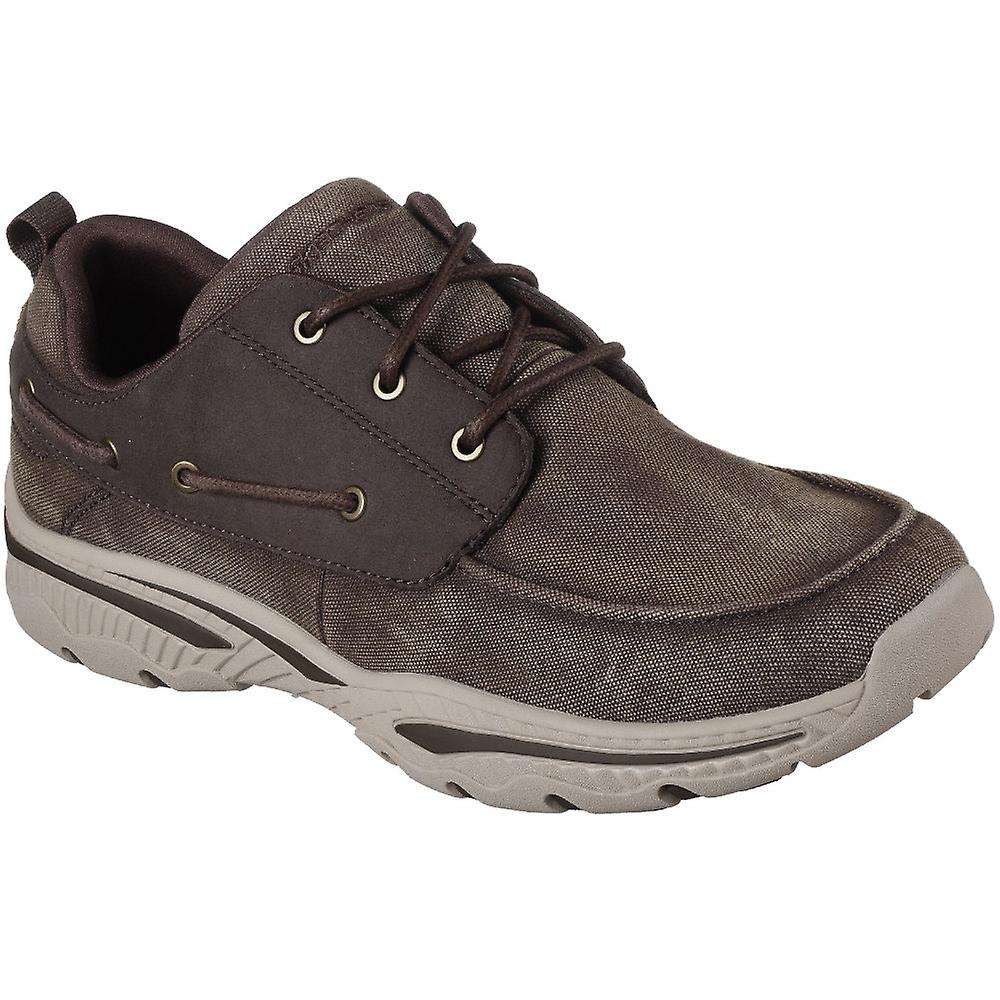 Boat Vosen Skechers Creston Mens Up Casual Lace Shoes Cushioned zyq6v