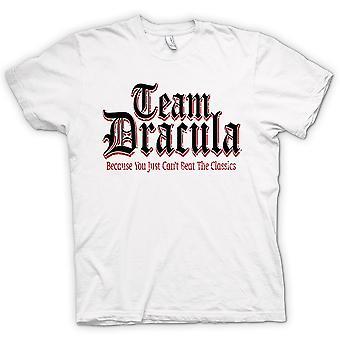 Hombres camiseta - equipo Drácula - gracioso