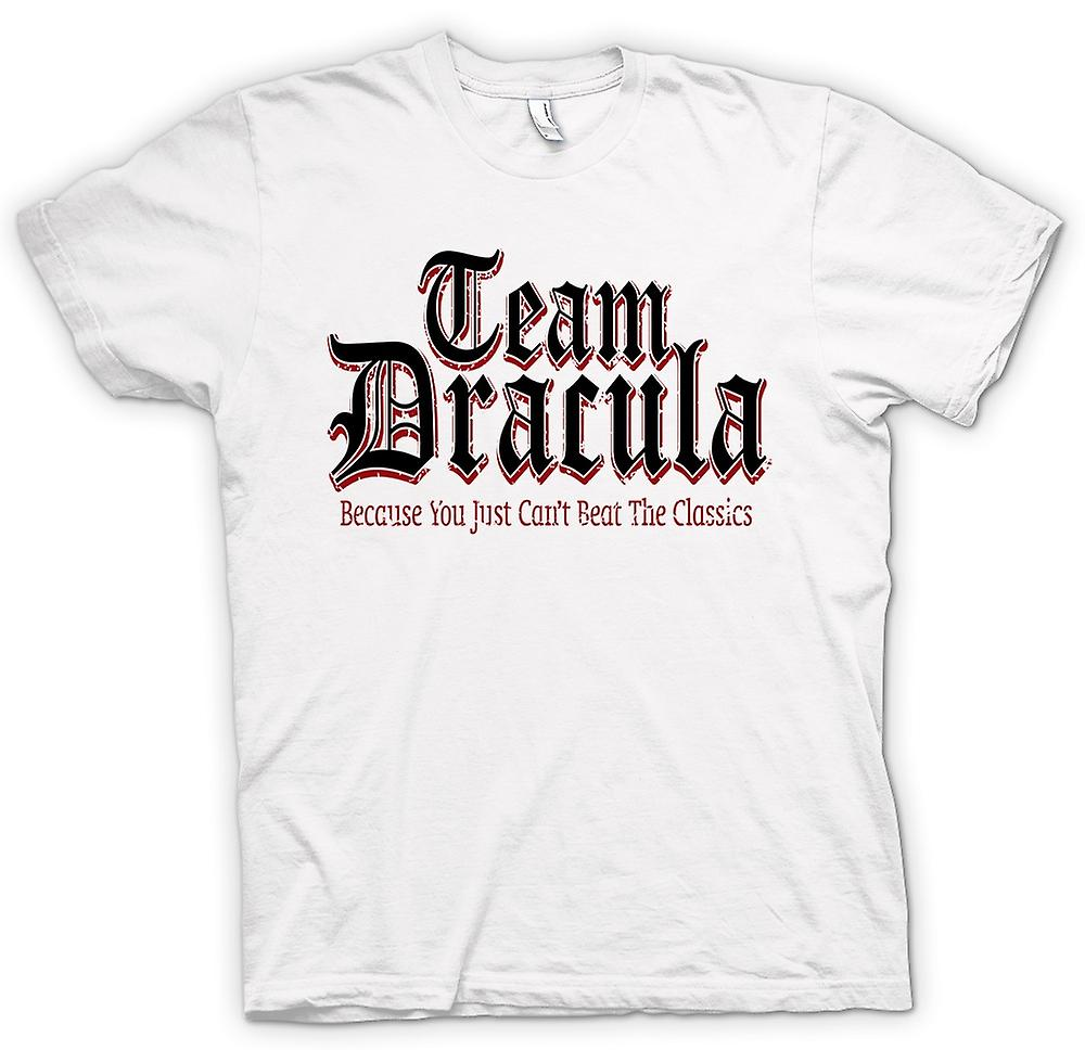 Mens T-shirt - Team Dracula - Funny