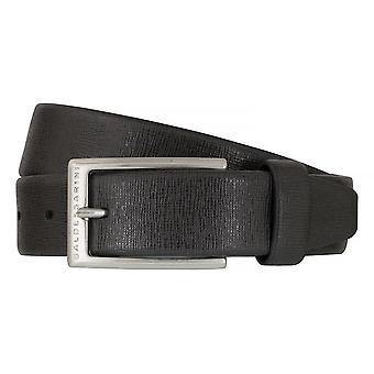 BALDESSARINI correa de cuero cinturones cinturones cuero gris hombre 6496