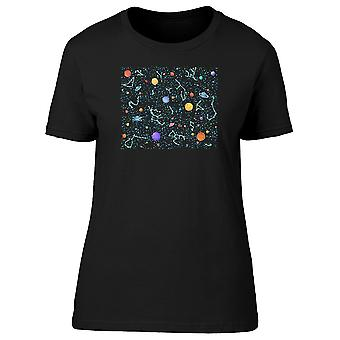 Fantasy Space Planets Tee Women's -Image by Shutterstock