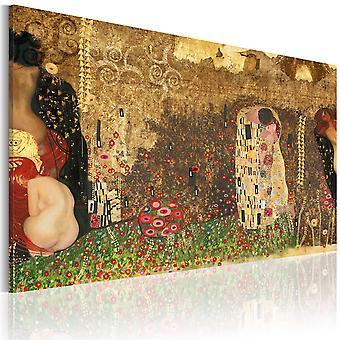 Inspiração - Gustav Klimt - de impressão da lona