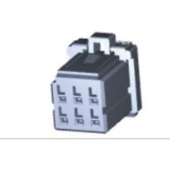 Armoire de TE Connectivity Socket - câble dynamique 1000 série nombre de broches 6 1827864-2-3 1 PC (s)