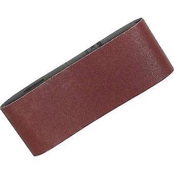 Sandpaper belt Grit size 60 (L x W) 610 mm x 100 mm