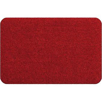 Salon lion mini matte red washable small foot mat