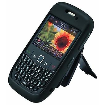 Body Glove - Silicone Case for BlackBerry 8500, Curve 8530, 9300, 9330 - Black