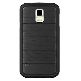 Body Glove Rise Case Case for Samsung Galaxy S5 (Black/ Brushed Metal)
