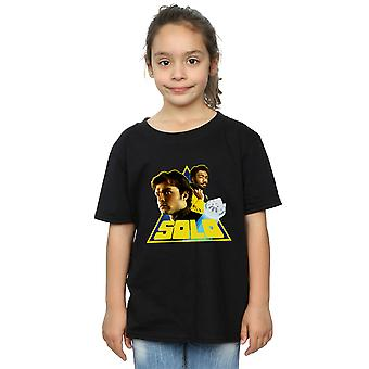 Star Wars Girls Solo Retro Triangle T-Shirt
