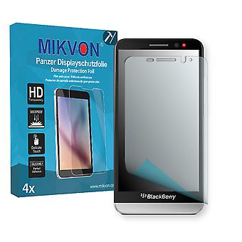 BlackBerry Z30 Screen Protector - Mikvon Armor Screen Protector (Retail Package with accessories)