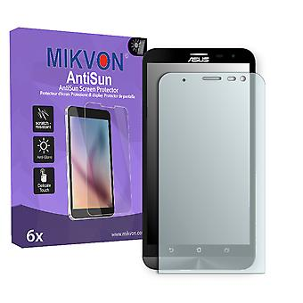 Asus ZenFone 2 Laser (ZE600KL) Screen Protector - Mikvon AntiSun (Retail Package with accessories)