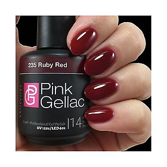 Permanente Emaille rosa Gellac 235 Ruby Red