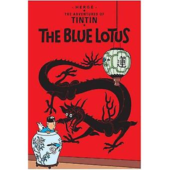 The Blue Lotus (New edition) by Herge - 9781405206167 Book