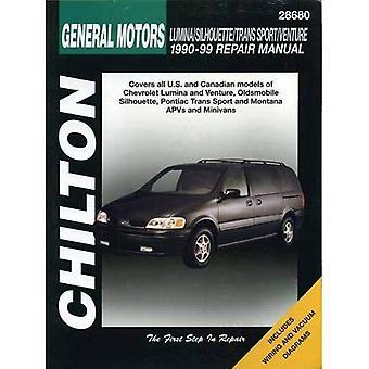 Chilton General Motors Lumina/Silhouette/Trans Sport/Venture: 1990-99 (Chilton Total Car Care Automotive Repair Manuals)