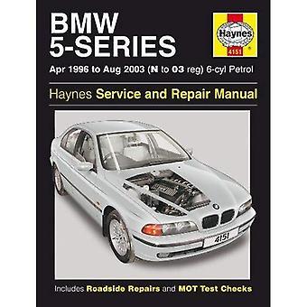BMW 5-Series 6-Cyl (Petrol) Owner's Workshop Manual: 96-03