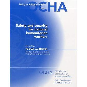 Veiligheid en beveiliging voor nationale humanitaire hulpverleners