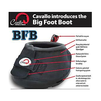 Cavallo Big Foot Touch Fastening Horse Boot