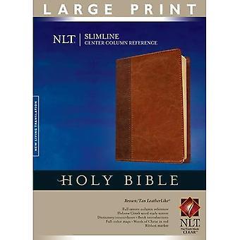 Slimline-Center Spalte Referenz Bibel-NLT-Großdruck