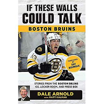 If These Walls Could Talk:� Boston Bruins: Stories from the Boston Bruins Ice, Locker Room, and Press Box