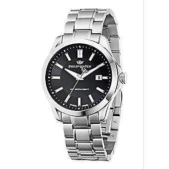 Philip Blaze-quartz with analog Display and silver stainless steel bracelet R8253165004