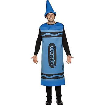 Blue Crayola Pencil Adult Costume