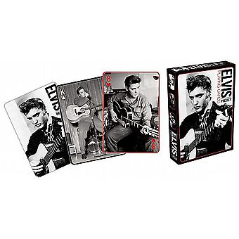 Elvis Presley Black & White photos set of playing cards    (nm)