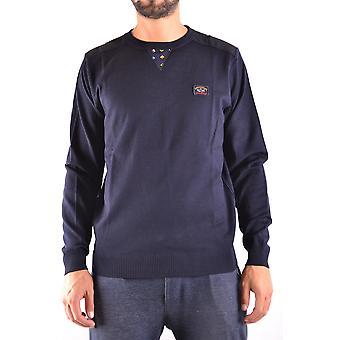Paul & Shark Blue Wool Sweater