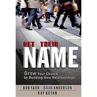 Get Their Name Grow Your Church by Building New Relationships by Farr & Bob