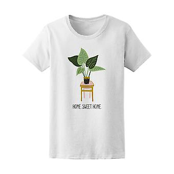 Home Sweet Home Tropical Plants Tee Women's -Image by Shutterstock