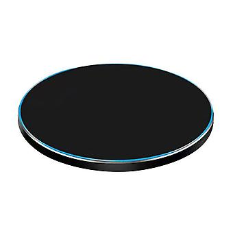Jetjoy Qi Universal Wireless Charger 5V - 2.1A Wireless Charging Pad Black - Copy