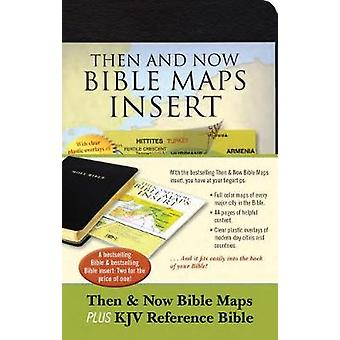 Then & Now Bible Maps Insert and KJV Bib by Then & Now Bible