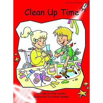 Clean Up Time - Early - Level 1 (International edition) by Pam Holden -