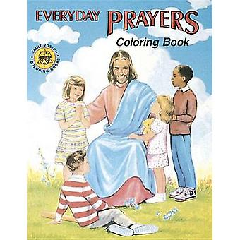 Coloring Book about Everyday Prayers by Catholic Book Publishing Co -