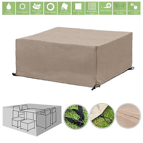 Cover Piece Set Protective Stone Cube Gardenista® 8 For Patio WH9ED2I