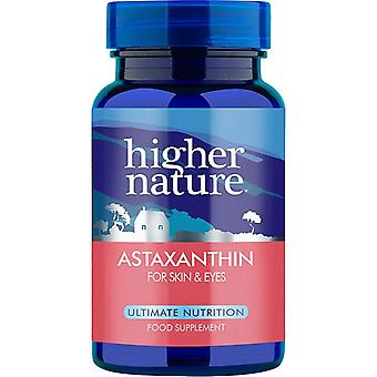 Higher Nature Astaxanthin For skin and eyes 30caps