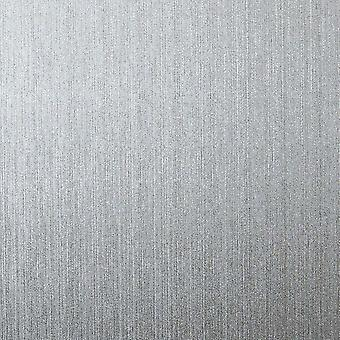 Silver Foil Metallic Wallpaper Plain Texture Vinyl Shiny Shimmer Arthouse Gianni