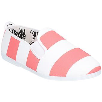 Flossy Girls Junior Urpia slip på casual sommar pump skor