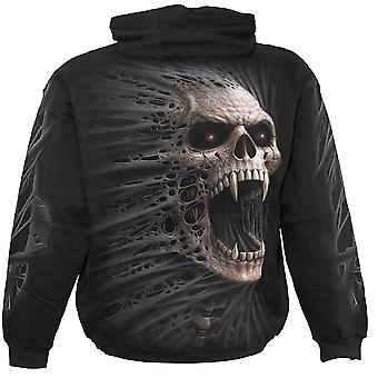 Spiral Direct Gothic CAST OUT - Hoody Black|Skulls|Fangs|Horror